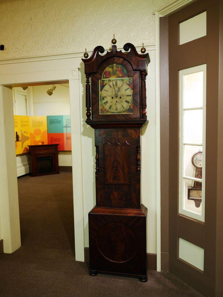 Tallcase clock