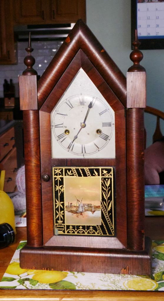 New haven Gothic Steeple clock