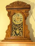 Arthur Pequegnat Maple Leaf kitchen clock