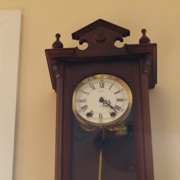 Jauch Vienna styled wall clock circa 1980