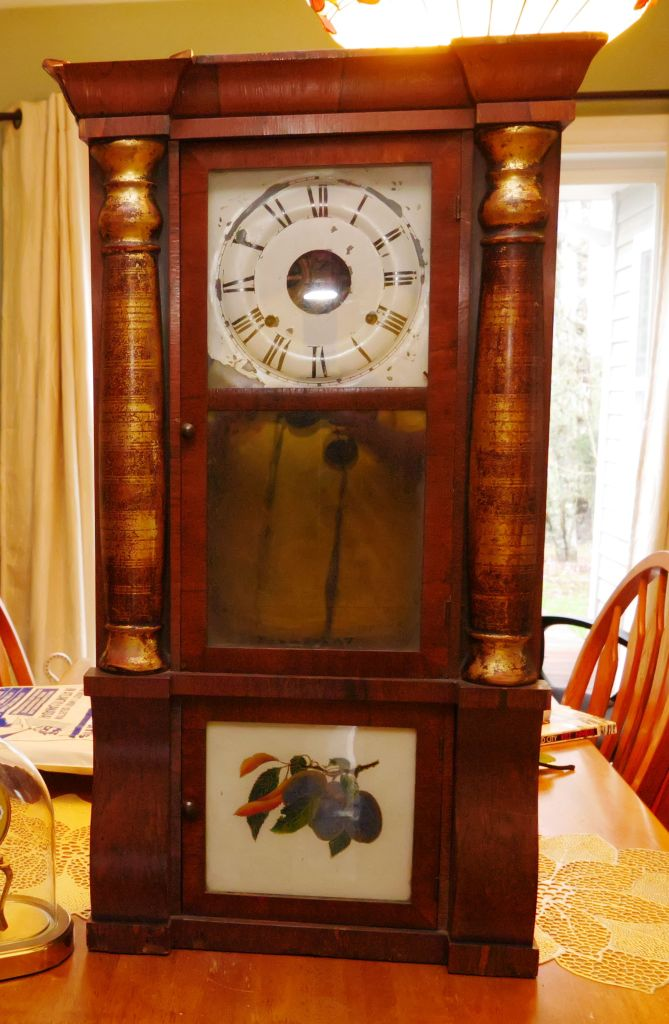 Inpainting a Seth Thomas clock dial – Part 1 – Antique and