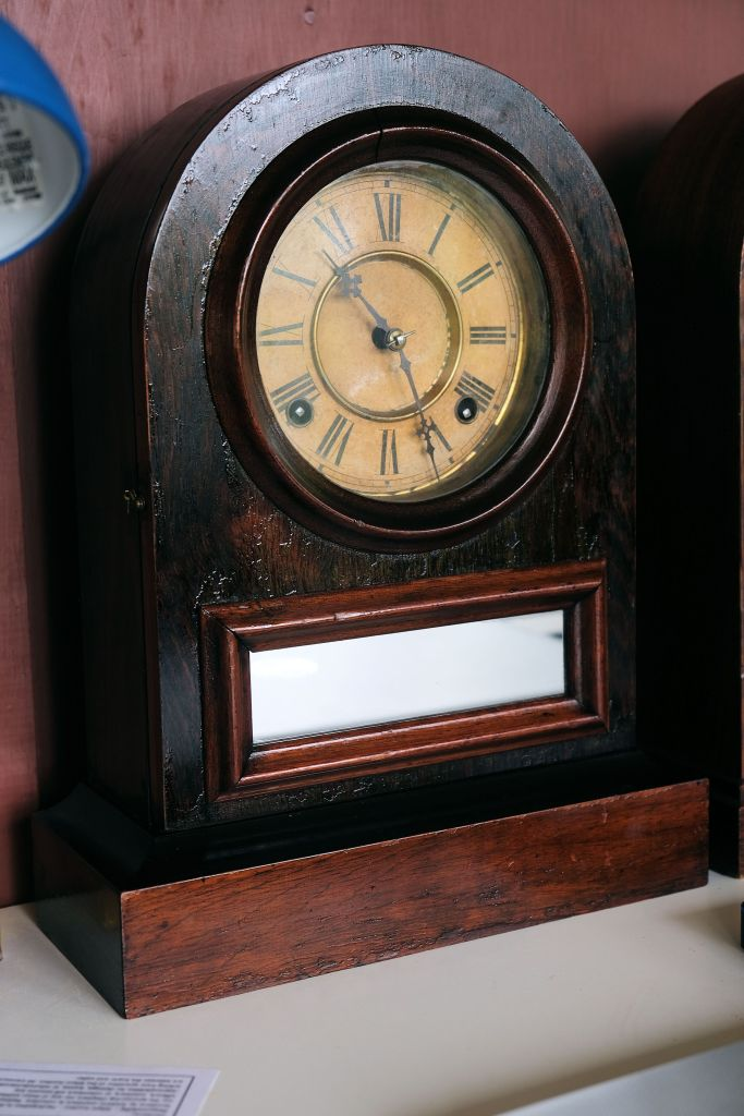 Jerome clock in as-found condition