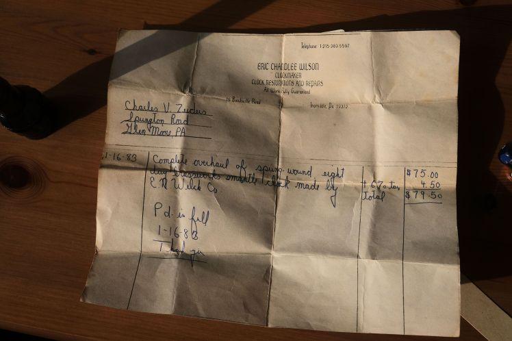 Service record, 1983