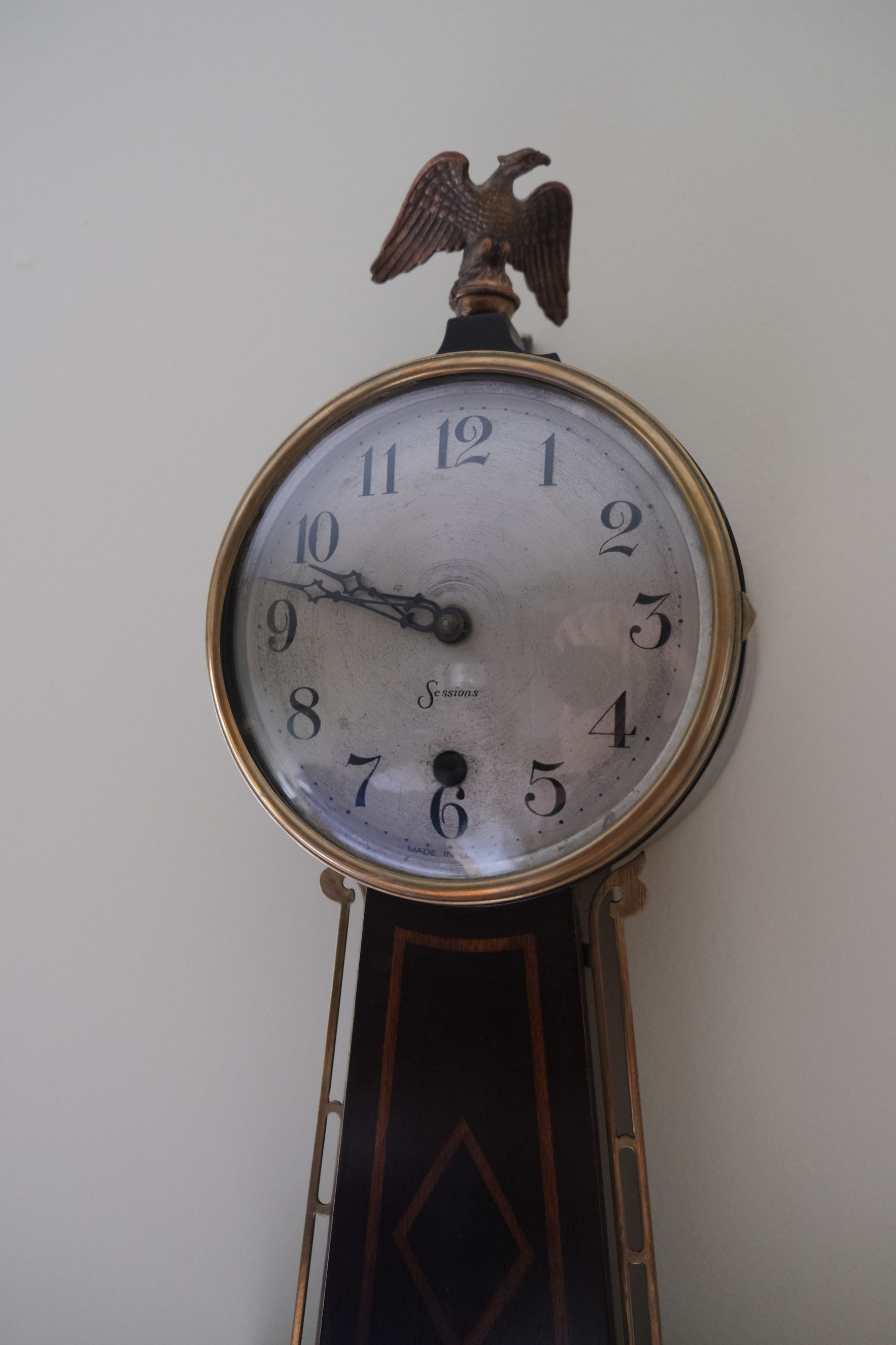 SESSIONS HALIFAX BANJO CLOCK REPLACEMENT PICTURE #2