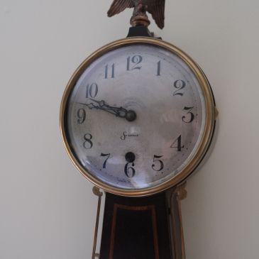 Sessions Lexington banjo clock