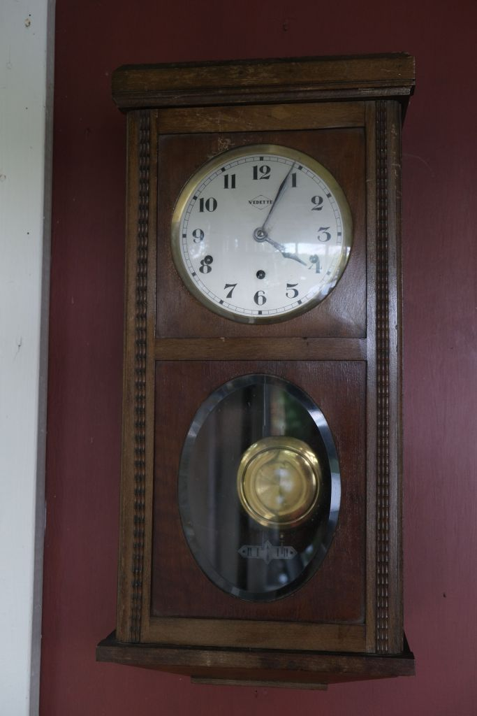 Vedette Westminster chime box clock