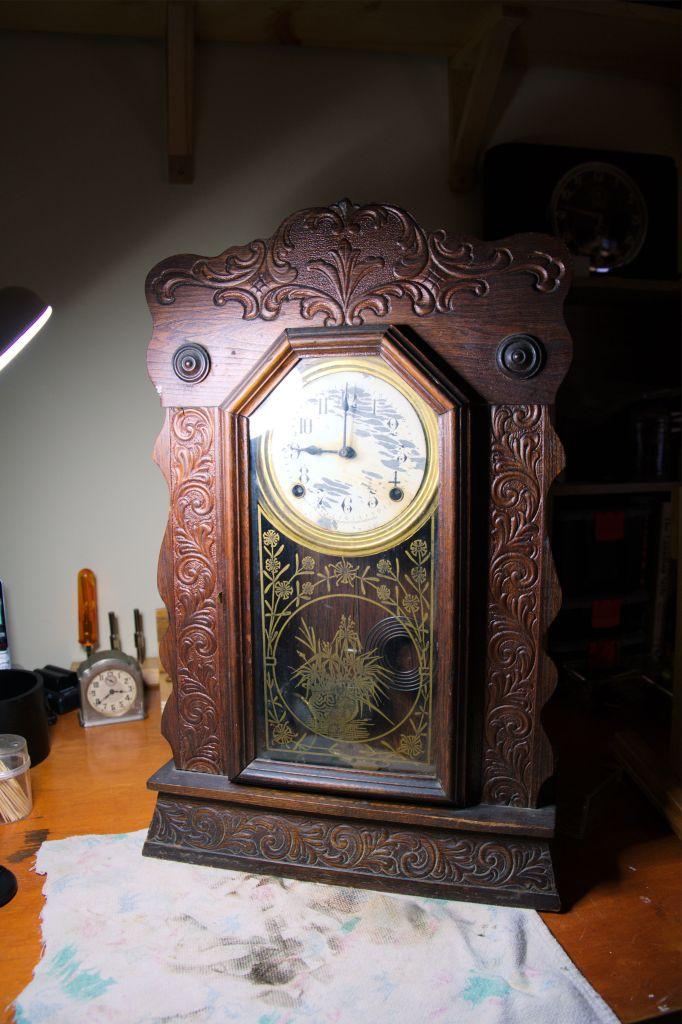 Arthur Pequegnat Canuck kitchen clock
