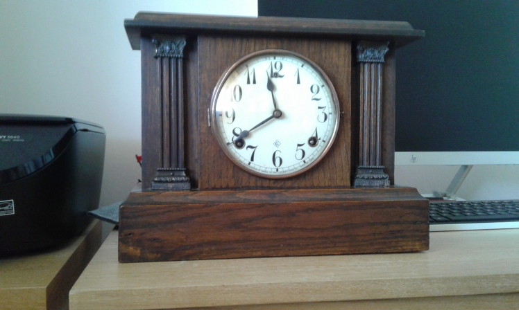 Gilbert mantel clock