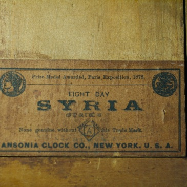 Ansonia Syria label