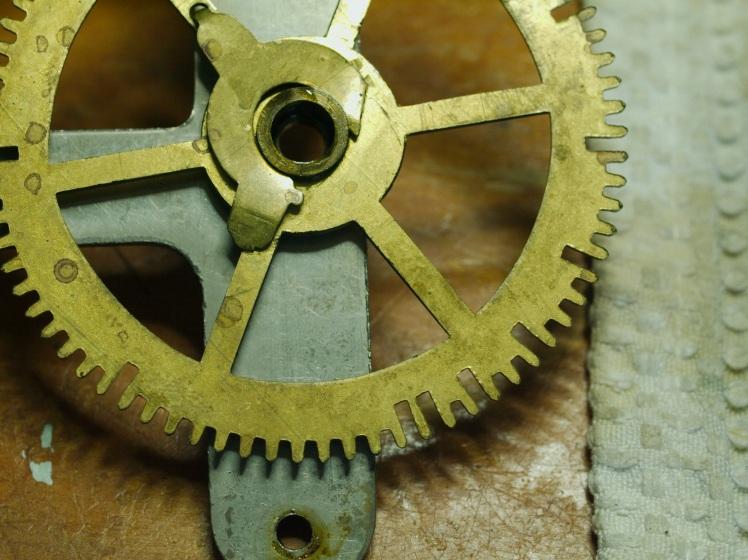 Broken pressure washer on the count wheel