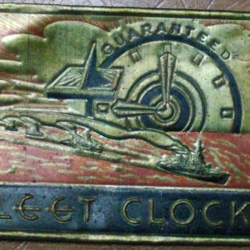 Fleet Time plate